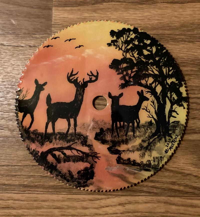 """All In The Family"" Round Saw Blade mertensfrontierranch.com"