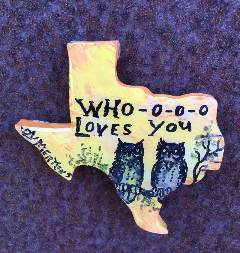 """Who Loves You?"" on Texas Magnet mertensfrontierranch.com"